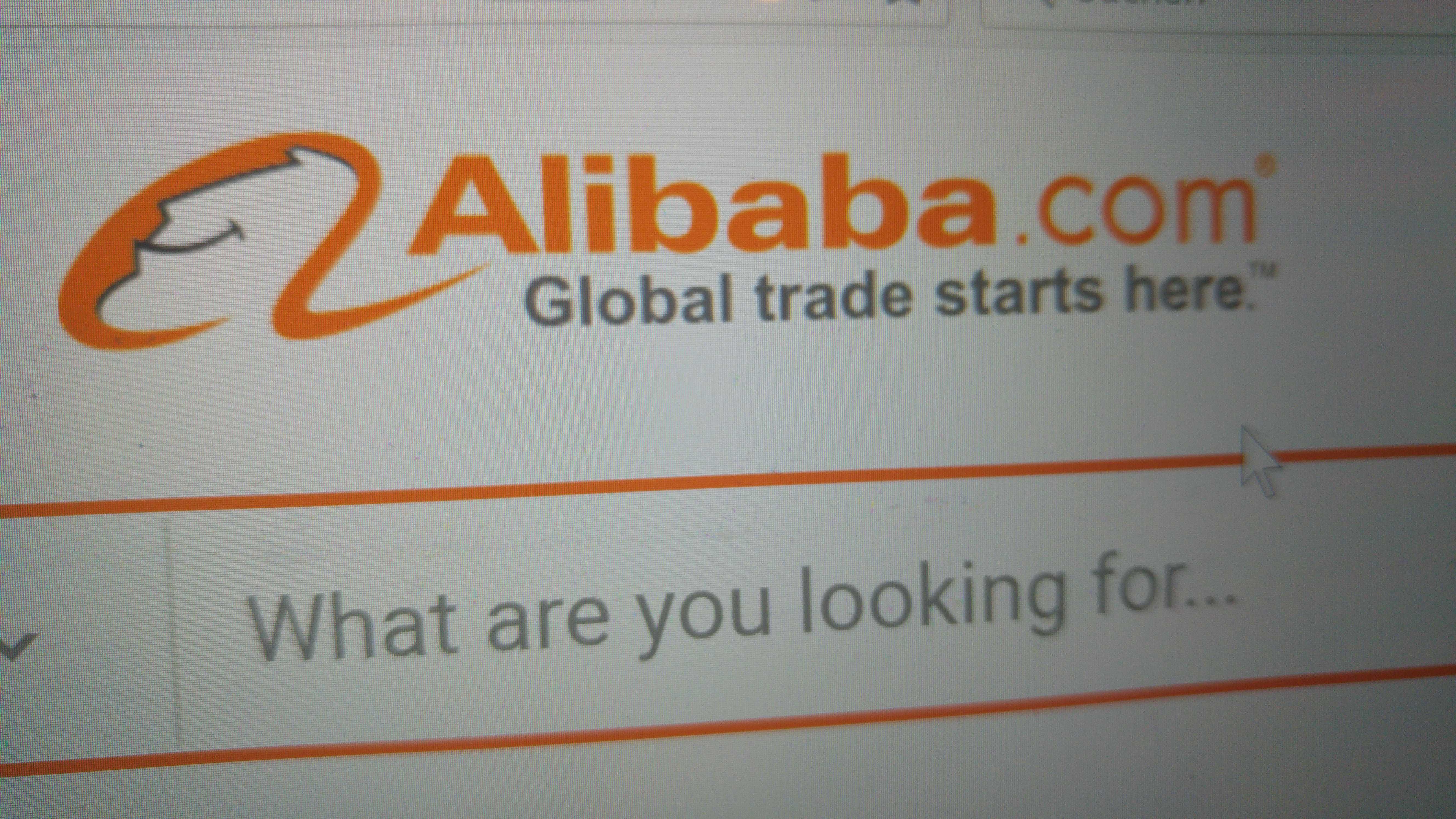Alibaba-Website