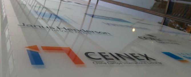 CEINEX-Schild
