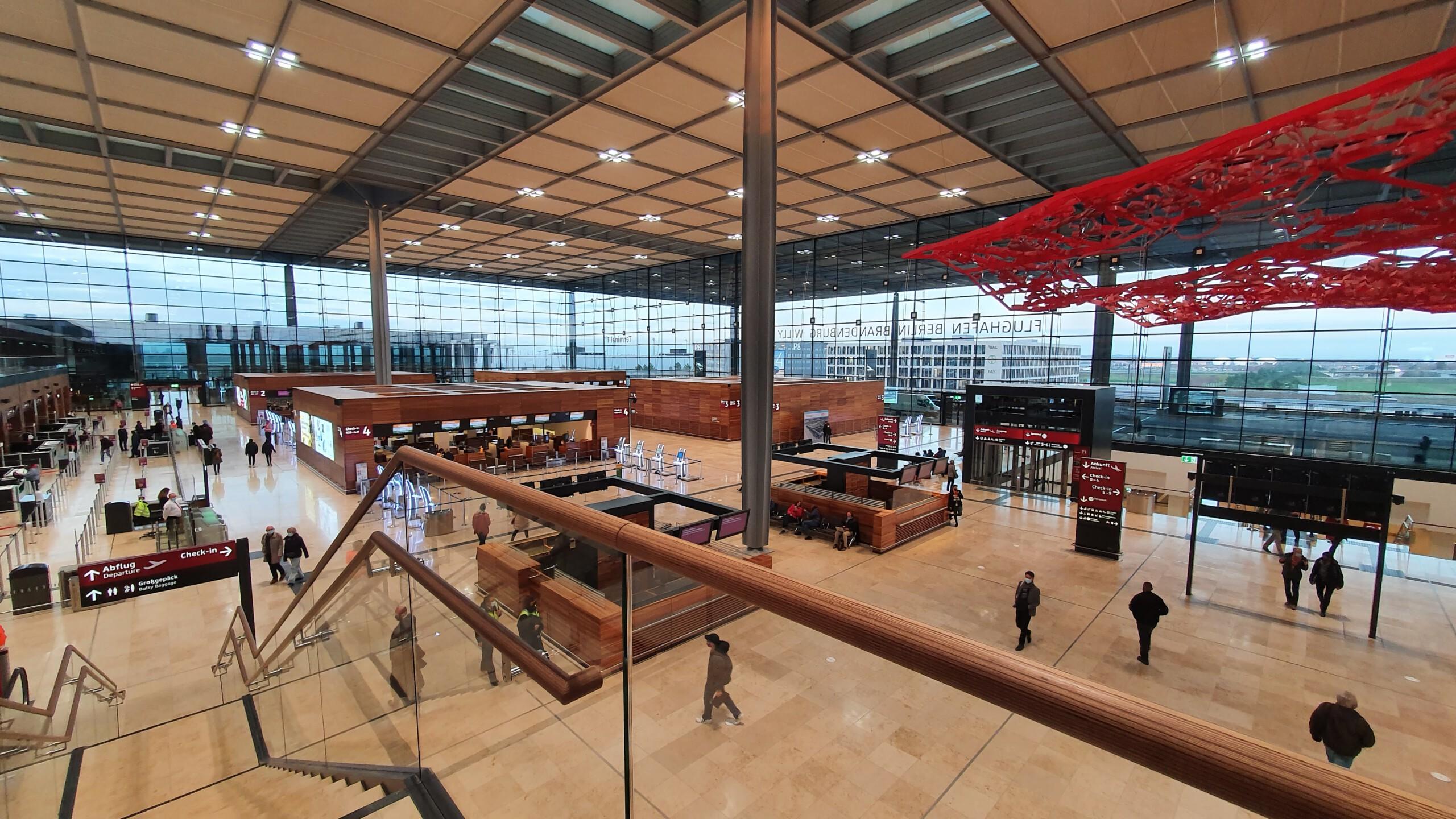 Der neue Hauptstadtflughafen ist am Start